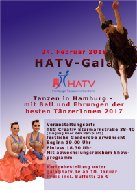 HATV-Gala 2018 - ab sofort Vorverkauf für alle geöffnet