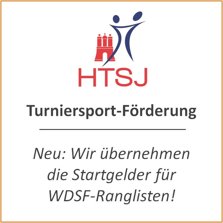 WDSF-Startgelder für Jugendturniere