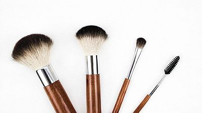 makeup brush Bild kinkate pixabay
